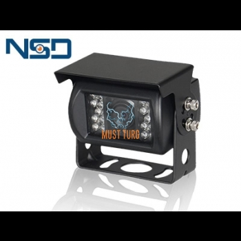 Parking camera HD 12V heated 4 pin IP69K 76x70x84mm