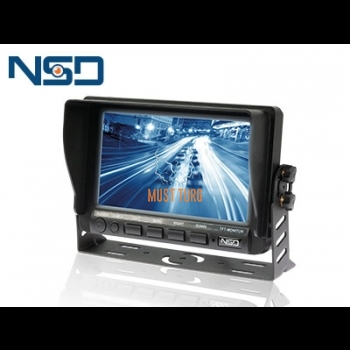 "Display 7 ""HD 12-32V 2 channels"