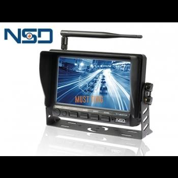 "Ekraan 7"" HD juhtmevaba 8-32V 1024x800px 4 kanaliga NSD"