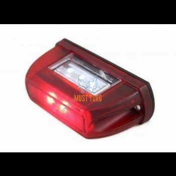 License plate and parking light Led 12-24V E20