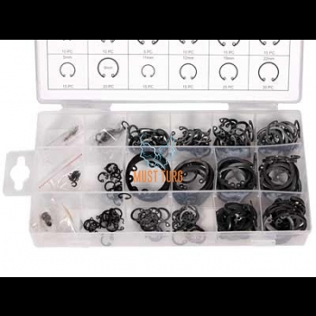Set of stop rings for opening 300 piece ø3-32mm