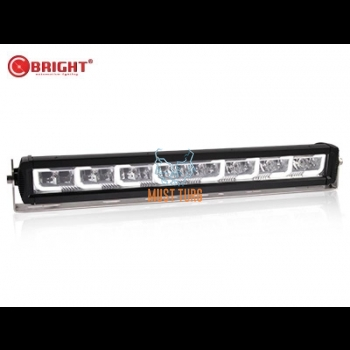 High beam Led with parking light 12-24V 128W Ref.27.5 9000lm IP67 R112 / R10 C-Bright