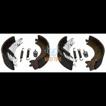 Trailer brake pads 4pcs 160x35mm Knott