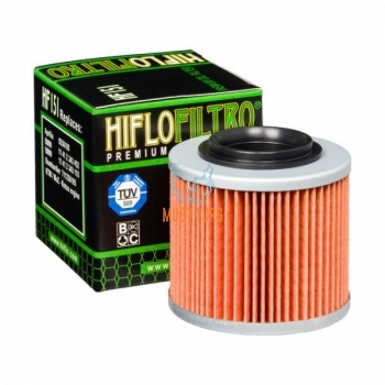 Moto oil filter Aprilia BMW Hiflo HF151
