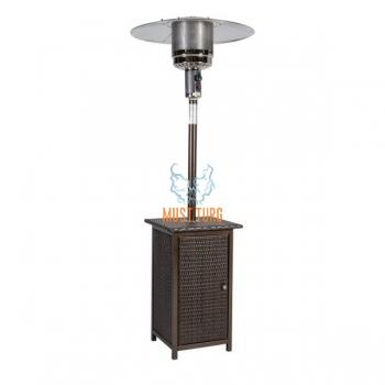 Terrace heater - Wicker with 13KW gas