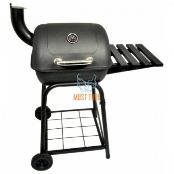 Charcoal grill with chimney 90x57x110cm