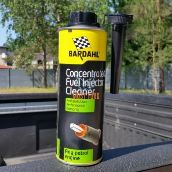 Concentrated fuel injector cleaner 500ml Bardahl 1198B