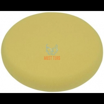 Polishing disc Förch 145mm yellow strong in a pack of 2 pcs