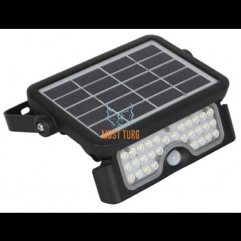 Floodlight with motion sensor solar panel 5W 500lm IP65 Kobi