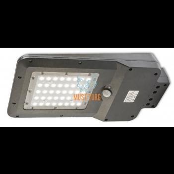 Tänavavalgusti liikumisanduriga päikesepaneeliga 15W 1600lm IP65 Kobi