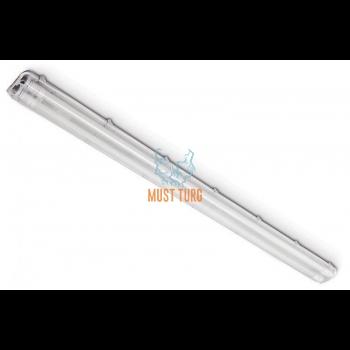 Luminaire frame with plastic glass T8 Led 230V 2x150cm IP65 Kobi