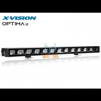 High beam led 120W 9-33V 36W Ref.50 10500lm IP69K R10 R112 X-Vision Optima 12