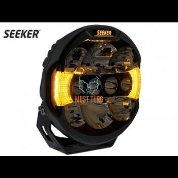 High beam Seeker Quantum 10-32V 100W Ref. 40 12000lm led parking light white / yellow R112 R7 R10