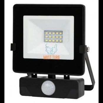 Floodlight with motion sensor 10W 230V 750lm IP54 Kobi