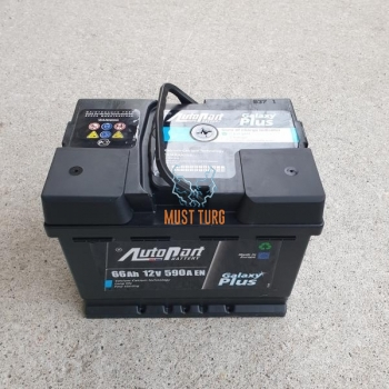 Car battery 66Ah 590A 242X175X190 -/+ Autoparts