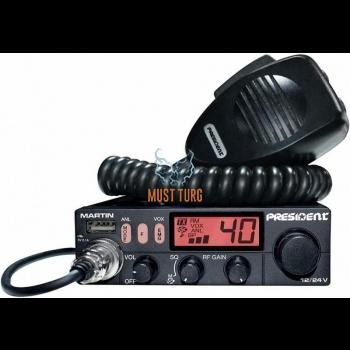 CB radio station President Martin 40 channels AM / FM power 4W