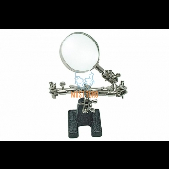 Magnifying glass with assisting hands 62mm