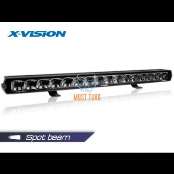 High beam X-Vision Genesis II 1100 Spot beam with parking light 9-36V 180W 14500lm ref.50 4700K