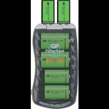 Battery charger AA / AAA / C / D / 9V