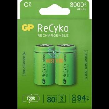 Batteries C / LR14 3000mAh 2pcs GP