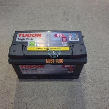 Car battery 85Ah 800A 315X175X175mm - / + Tudor warranty 24 months by Exide