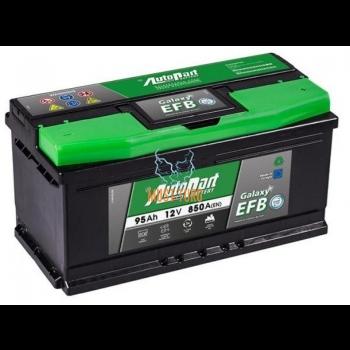 Car Battery 95Ah 850A 353X175X175mm - / + AGM AutoParts