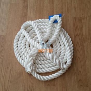 Towing rope 20T 8m 32mm 2x loop