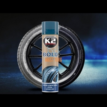 Tire gloss K2 Bold in aerosol 600ml