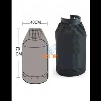 Gas cylinder cover 70x40cm