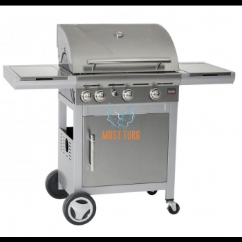 Gas grill Rebel Solid 3i Steel 11,4KW
