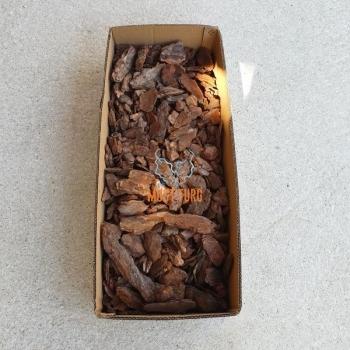 Mulch pine bark pieces fraction 7–30mm 50L