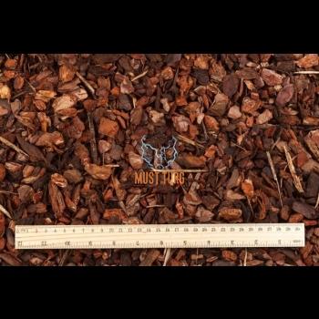 Multš pine bark and wood shavings chips fraction 7-30mm 50L