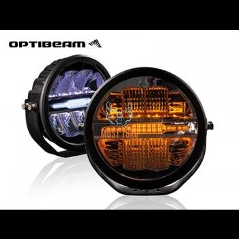 High beam Optibeam Savage 9 with parking light 60W 9-36V Ref.45 7200lm R112 R10 R7