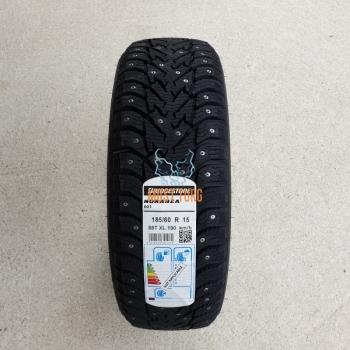 185/60R15 88T XL Bridgestone Noranza 001 studded
