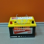 Car battery 74Ah 750A 277X174X175 +/- Hankook