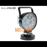 Work light with magnet 9-36V 9x3W CREE polycarbonate BullPro