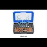 Socket set 31-piece with magnetic holder ¼ ""