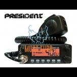 CB-raadiojaam President Harry III 40 kanalit AM/FM, võimsus 4W/4W