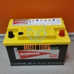 Car battery 74AH 277X174X175 -/+ 750A HANKOOK UMF