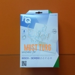 Tolmuimejakotid Bosch/Siemens D-E-F-G-H 4tk +1 filter HQ micro