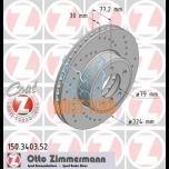 Piduriketas E. BMW E60/61 Zimmermann Sport