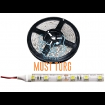 Led tuleriba 300x power LED, 12V, pealt valgustav, 42W/5m, 3,5A, 3000K