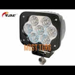 LED-töötuli, 9-36V, 35W, 3486lm, RFI/EMC-sertifikaat, IP68, SAE