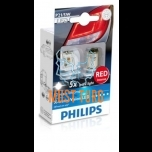 Light bulb P21 / 5W LED 12 / 24V in a package of 2 Philips 12899 R