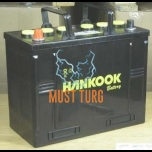Truck battery 125Ah 720A 342X172X262MM +/- Hankook