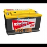 Car battery 105Ah 850A 354X174X190MM -/+ Hankook UPHB kaltsiumaku