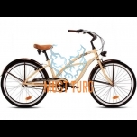 "Jalgratas Drag Catwalk 15"" beez/pruun"