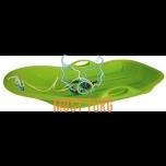 Kelk plastikust suurusega 76x50x12cm, roheline