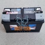 Autoaku 100Ah 800A 352X175X190 -/+ LOXA