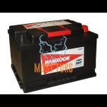 Car battery 100Ah 850A 354X174X190MM -/+ Hankook